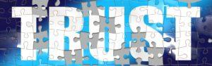 Image du mot trust - Puzzle